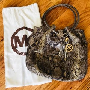 Michael Kors Snake Skin Purse
